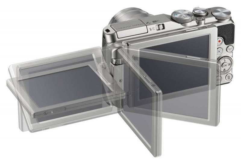 Фотоаппарат Nikon S9900 серебристый - фото 6