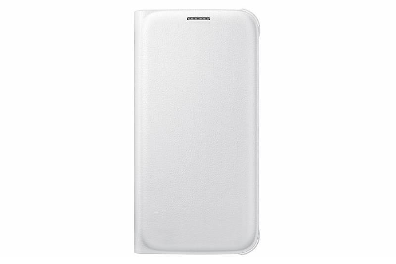 Чехол (флип-кейс) Samsung Flip Wallet белый - фото 1