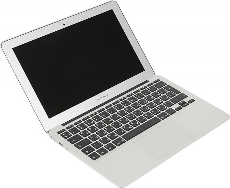 "Ноутбук 11.6"" Apple MacBook Air MJVM2RU/A серебристый - фото 3"