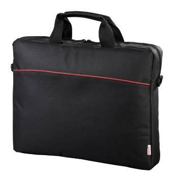 Сумка для ноутбука Hama Tortuga черный, полиэстер, рекомендуемая диагональ 17.3, съемный ремень, карманов внешних: 1шт (00101240)
