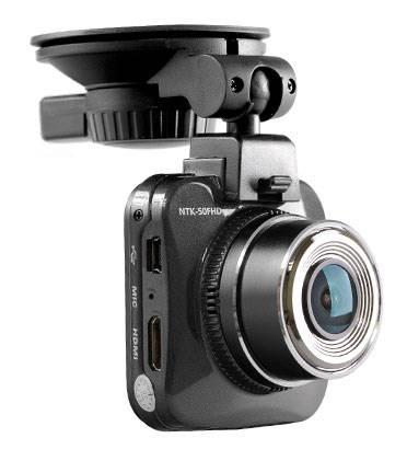 Видеорегистратор Sho-Me NTK-50FHD черный - фото 1