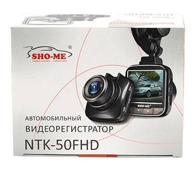 Видеорегистратор Sho-Me NTK-50FHD черный - фото 6