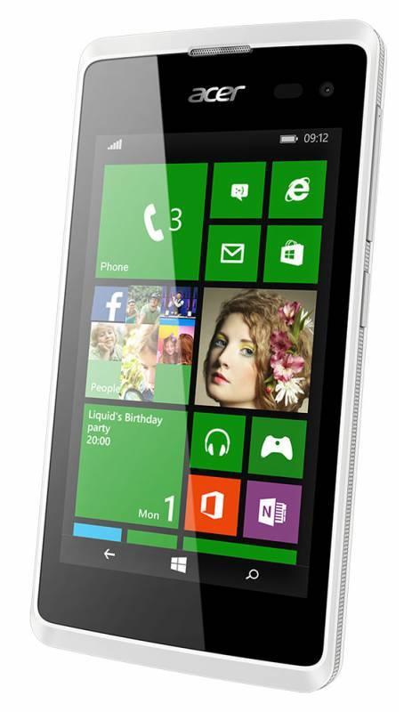Смартфон Acer Liquid M220 4ГБ белый - фото 1