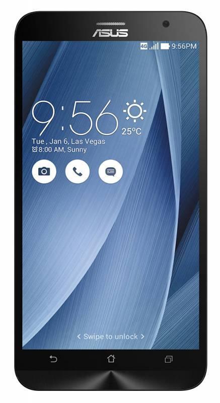 Смартфон Asus Zenfone 2 ZE551ML 32ГБ серебристый - фото 1