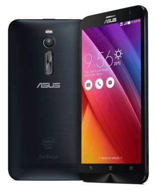 Смартфон Asus ZE551ML Zenfone 2 черный, встроенная память 16Gb, дисплей 5.5 1920x1080, Android 5.0, камера 13Mpix, поддержка 3G, 4G, 2Sim, WiFi, BT, GPS, microSDXC до 64Gb (90AZ00A1-M01760)