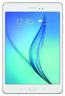 Планшет 8 Samsung Galaxy Tab A SM-T350 16ГБ белый (SM-T350NZWASER)