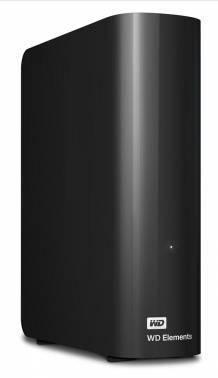 Внешний жесткий диск 4Tb WD WDBWLG0040HBK-EESN Elements Desktop черный USB 3.0
