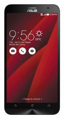 Смартфон Asus ZE551ML Zenfone 2 красный, встроенная память 16Gb, дисплей 5.5 1920x1080, Android 5.0, камера 13Mpix, поддержка 3G, 4G, 2Sim, WiFi, BT, GPS, microSDXC до 64Gb (90AZ00A3-M01780)