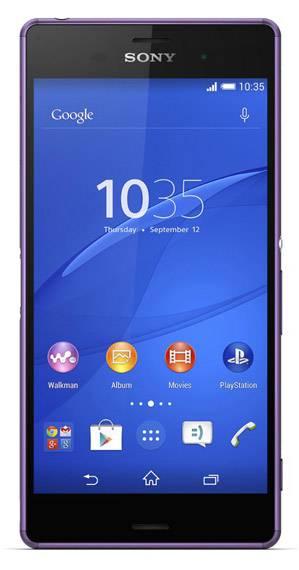 Смартфон Sony Xperia Z3 D6603 16ГБ пурпурный - фото 1