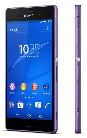 Смартфон Sony Xperia Z3 D6603 16ГБ пурпурный - фото 3