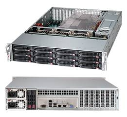 Корпус SuperMicro CSE-826BE1C-R920LPB 920 Вт черный (CSE-826BE1C-R920LPB)