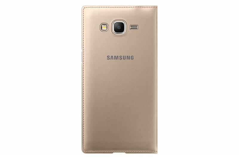 Чехол Samsung Flip Wallet, для Samsung Galaxy Grand Prime, золотистый (EF-WG530BFEGRU) - фото 2
