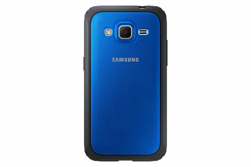 Чехол (клип-кейс) Samsung Protective Cover G360 синий - фото 2