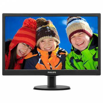 Монитор 19.5 Philips 203V5LSB2 (10 / 62) черный