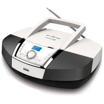Магнитола BBK BX519BT белый/черный ((CDS) CD-МАГНИТОЛА BX519BT Б/М)