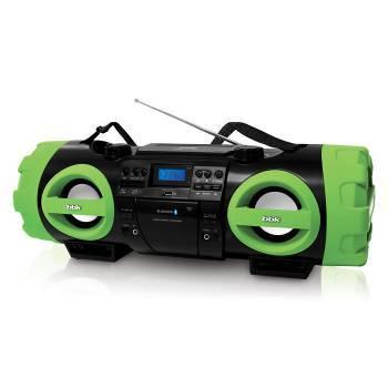 Магнитола BBK BX999BT черный / зеленый