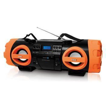 Магнитола BBK BX999BT черный / оранжевый