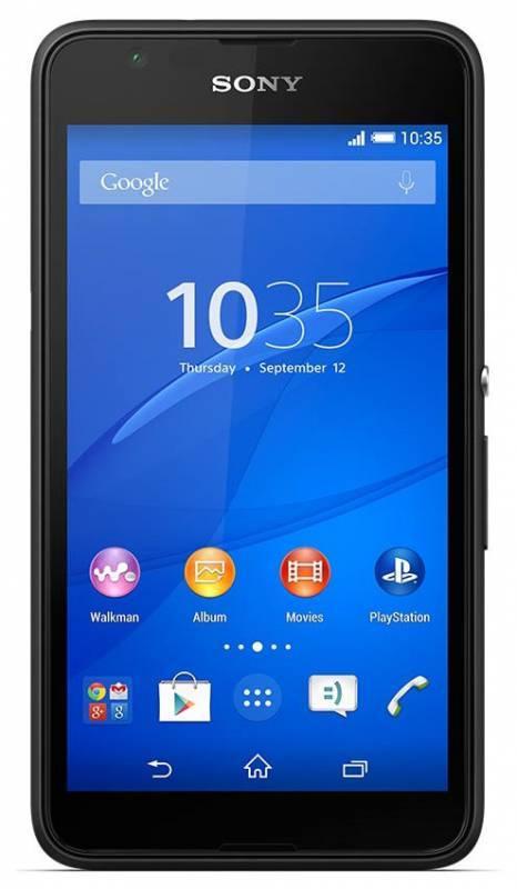 Смартфон Sony Xperia E4g E2003 8ГБ черный - фото 1