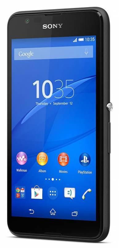 Смартфон Sony Xperia E4g E2003 8ГБ черный - фото 2