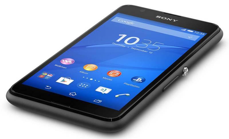 Смартфон Sony Xperia E4g E2003 8ГБ черный - фото 5
