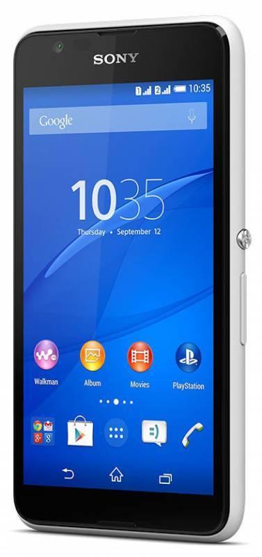 Смартфон Sony Xperia E4g E2003 8ГБ белый - фото 1