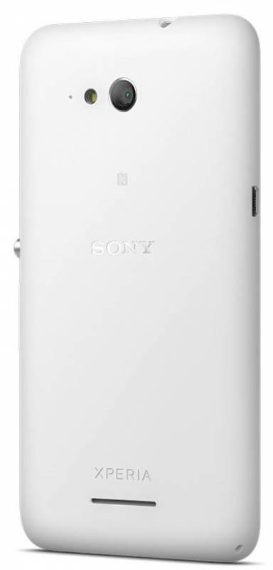 Смартфон Sony Xperia E4g E2003 8ГБ белый - фото 2