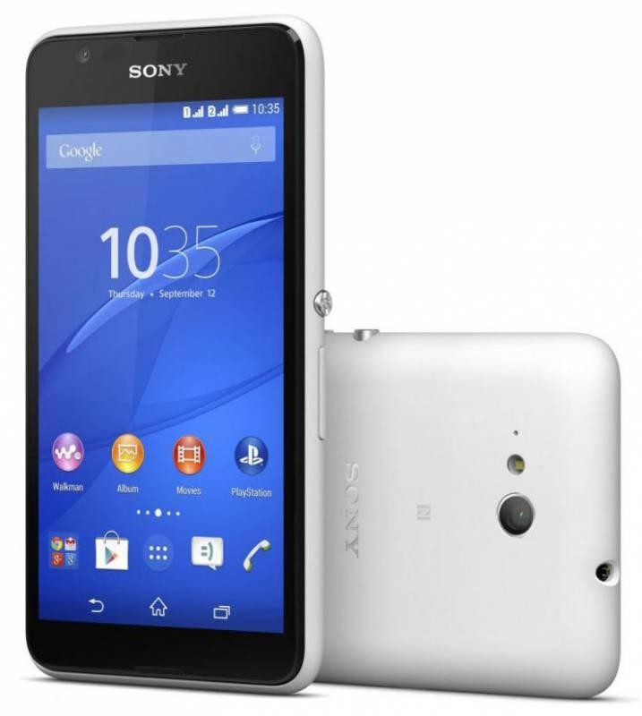 Смартфон Sony Xperia E4g E2003 8ГБ белый - фото 4