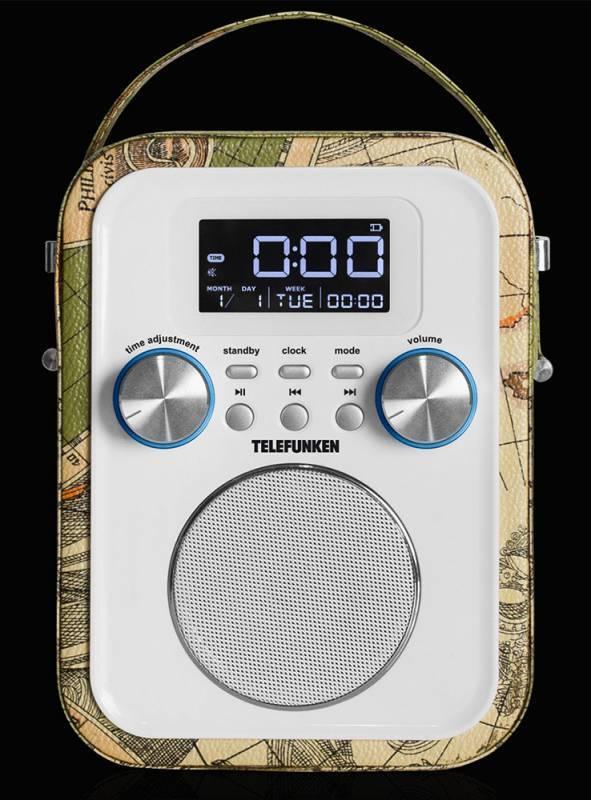 Радиоприемник Telefunken TF-1635U зеленый - фото 2