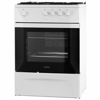 Плита Газовая Darina 1D GM141 002 W белый / черный