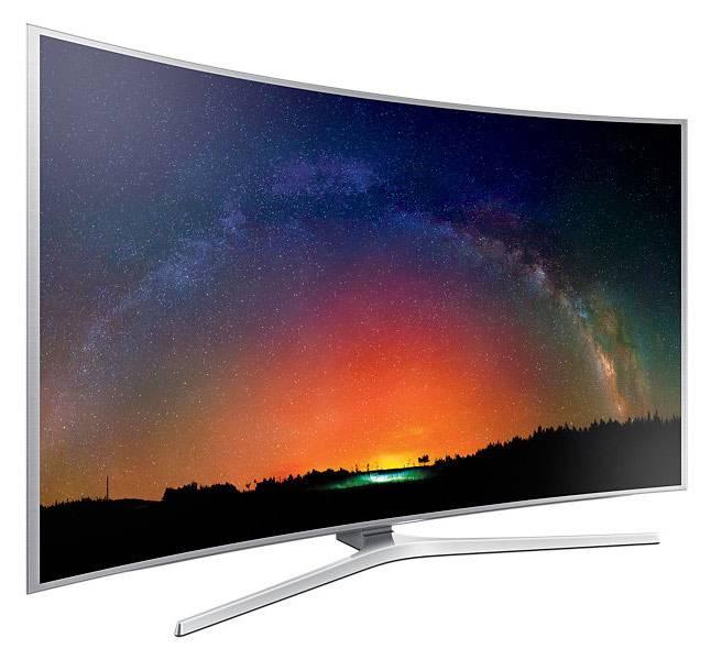 "Телевизор LED 65"" Samsung UE65JS9000TX серебристый - фото 5"