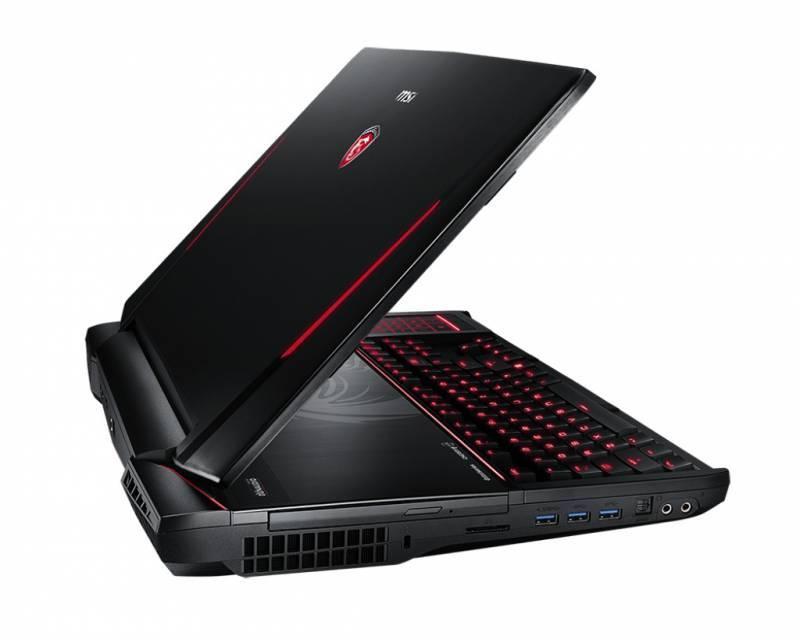 """Ноутбук 18.4"""" MSI GT80 2QC(TITAN SLI)-214RU черный - фото 4"""