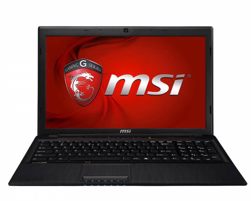 """Ноутбук MSI GP60 2PE-809RU  15.6"""" 1366x768 Intel Core i7 4720HQ 2.6ГГц 8192МБ DDR3L 1000Гб DVD-RW nVidia GeForce 840M 2048МБ Windows 8.1 Single Language BT - фото 1"""