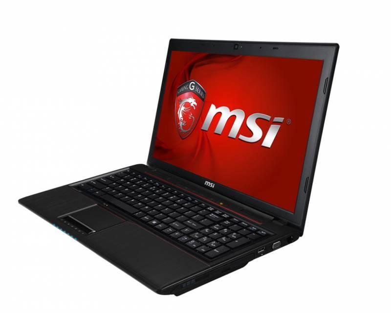 """Ноутбук MSI GP60 2PE-809RU  15.6"""" 1366x768 Intel Core i7 4720HQ 2.6ГГц 8192МБ DDR3L 1000Гб DVD-RW nVidia GeForce 840M 2048МБ Windows 8.1 Single Language BT - фото 3"""
