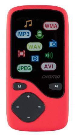 Плеер Digma Cyber 3 8ГБ красный - фото 2