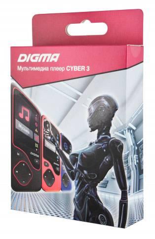 mp3-плеер 8Gb Digma Cyber 3 синий - фото 7