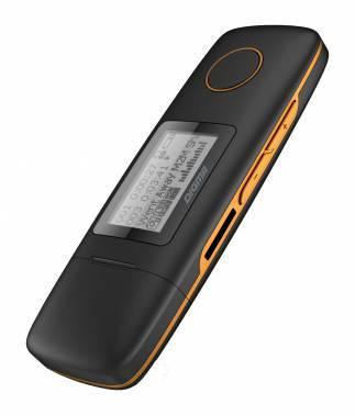 mp3-плеер 4Gb Digma U3 черный / оранжевый