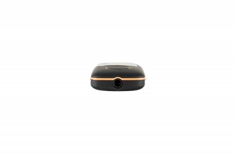 Плеер Digma U3 4ГБ черный/оранжевый - фото 4