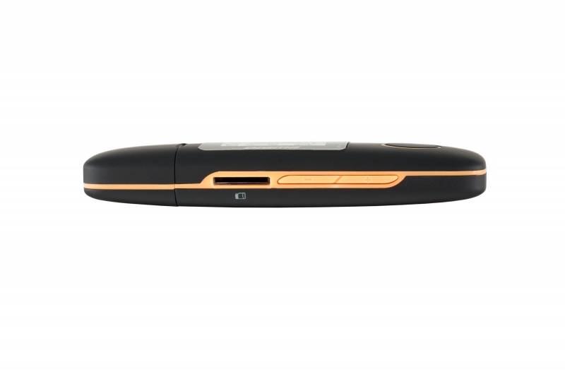 Плеер Digma U3 4ГБ черный/оранжевый - фото 5