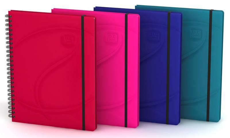 Тетрадь Oxford Beauty Eden A5+ ассорти перламутровый ассорти:крас/син/роз/бир (400048528) - фото 5