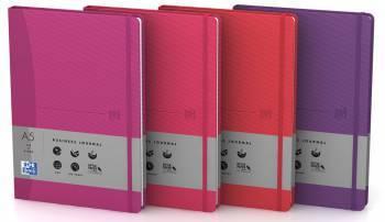 Блокнот Oxford Signature FEMININ A5 ассорти:крас/роз/мал/фио (400045815)