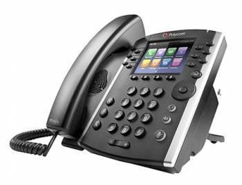 ������� Polycom VVX 400 12-line Desktop Phone with HD Voice. Compatible Partner platforms: 20. POE. Ships without power supply. (2200-46157-025)