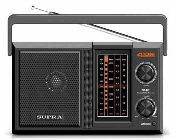 Радиоприемник Supra ST-122 черный