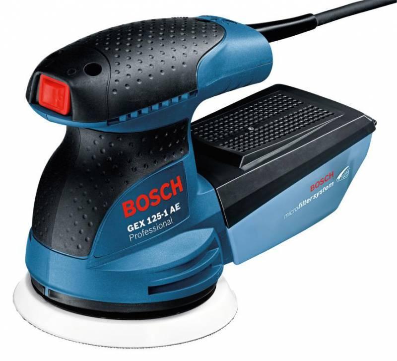 Эксцентриковая шлифовальная машина Bosch GEX 125-1 AE (0601387500) - фото 1