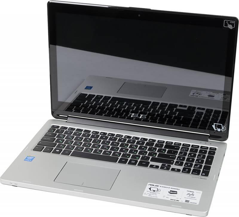 """Трансформер 15.6"""" Asus Book Flip TP500LA-CJ158H (90NB05R1-M02170) черный - фото 1"""