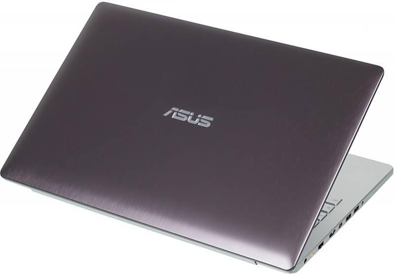 """Ноутбук ASUS N550JX-CN069H  15.6"""" 1920x1080 Intel Core i7 4720HQ 2.6ГГц 8192МБ DDR3L 1600МГц 1000Гб DVD-RW nVidia GeForce GTX 950M 4096МБ Windows 8.1 64-bit BT - фото 2"""