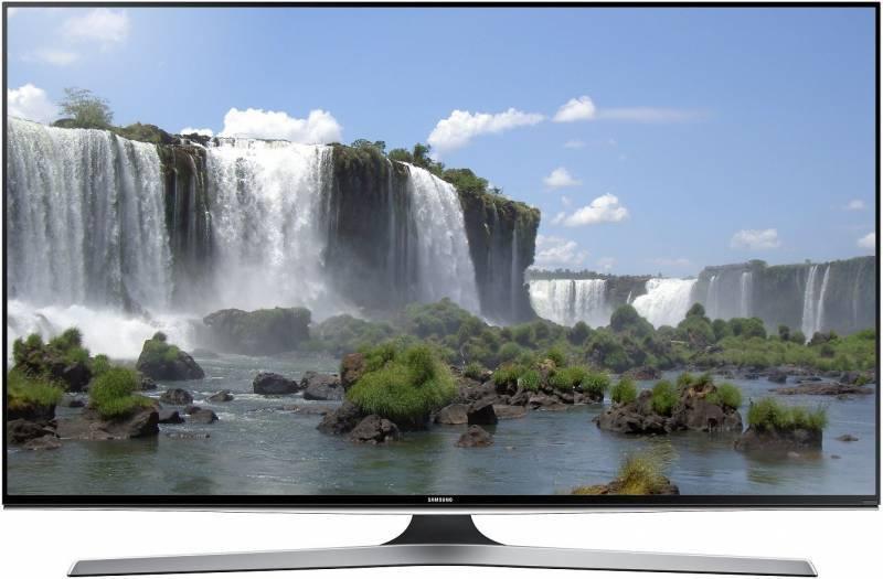 """Телевизор LED 55"""" Samsung UE55J6200AUXRU черный - фото 1"""