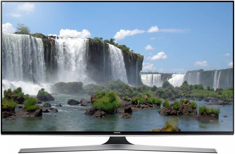 """Телевизор LED 55"""" Samsung UE55J6390AUXRU черный - фото 1"""
