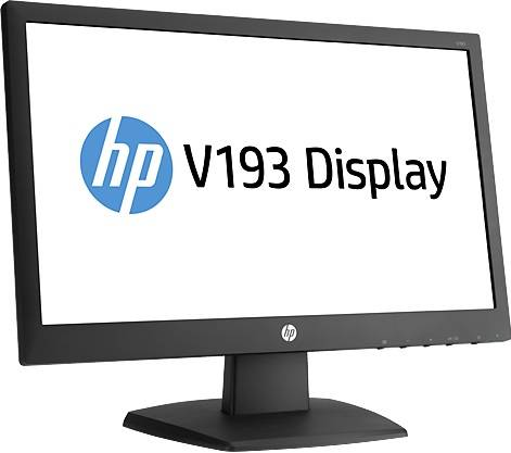 "Монитор 18.5"" HP V193 черный - фото 2"
