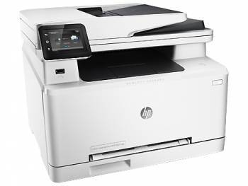 МФУ HP Color LaserJet Pro 200 MFP M277dw белый