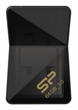 Флеш диск 64Gb Silicon Power Jewel J08 USB3.0 черный